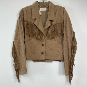 Cache Fringe Jacket Size p